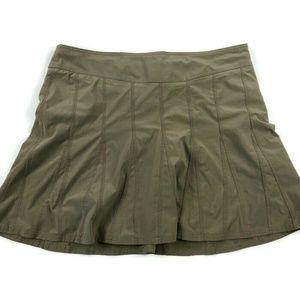 Athleta Beige Skort Tennis Skirt Activewear